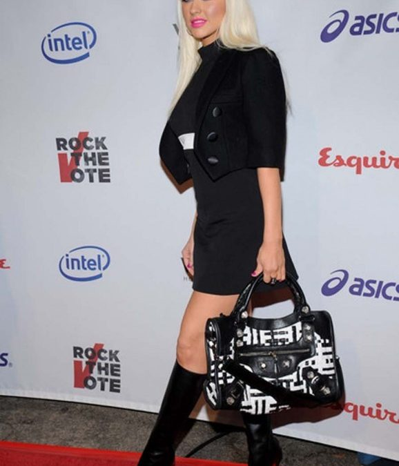 Christina Aguilera Handbags as Women Fashion Today