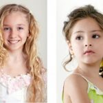 Children Long Hair: Formal Hair of Party Hairstyles