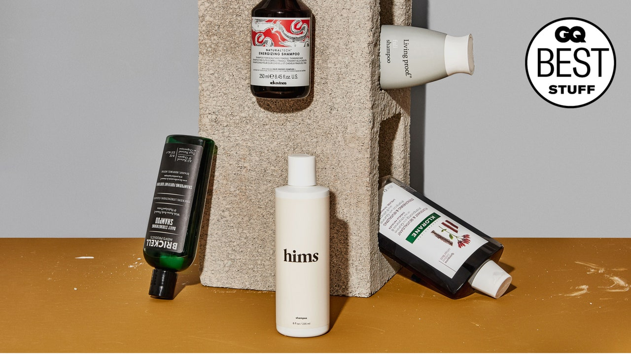 12 Scalp-Stimulating Shampoos for Guys with Thinning Hair