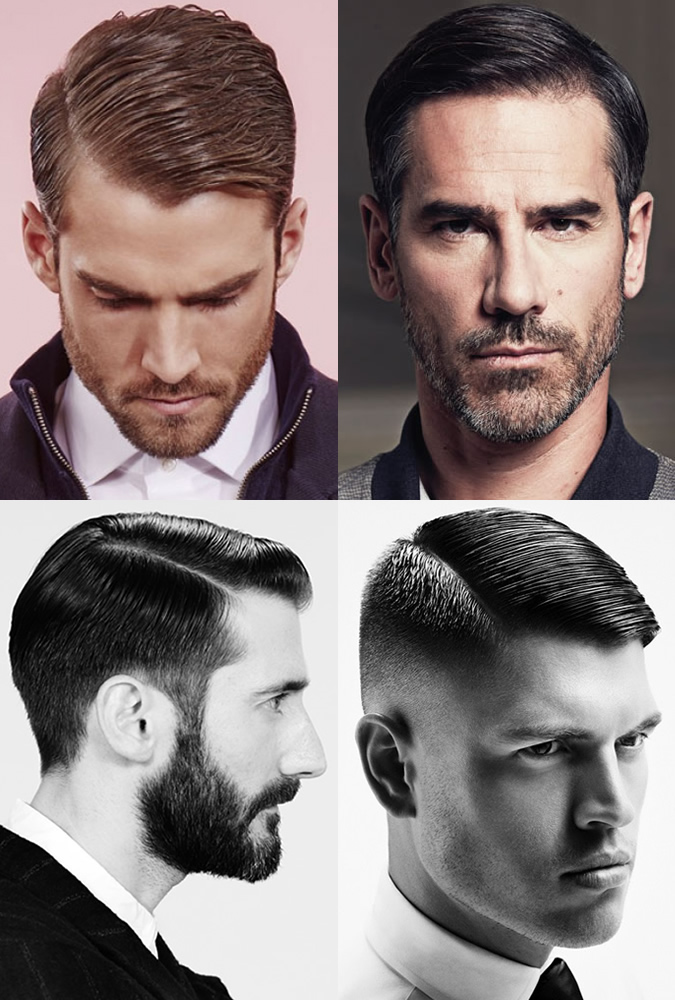 Greatest Men's Haircuts - Modern Side Partings