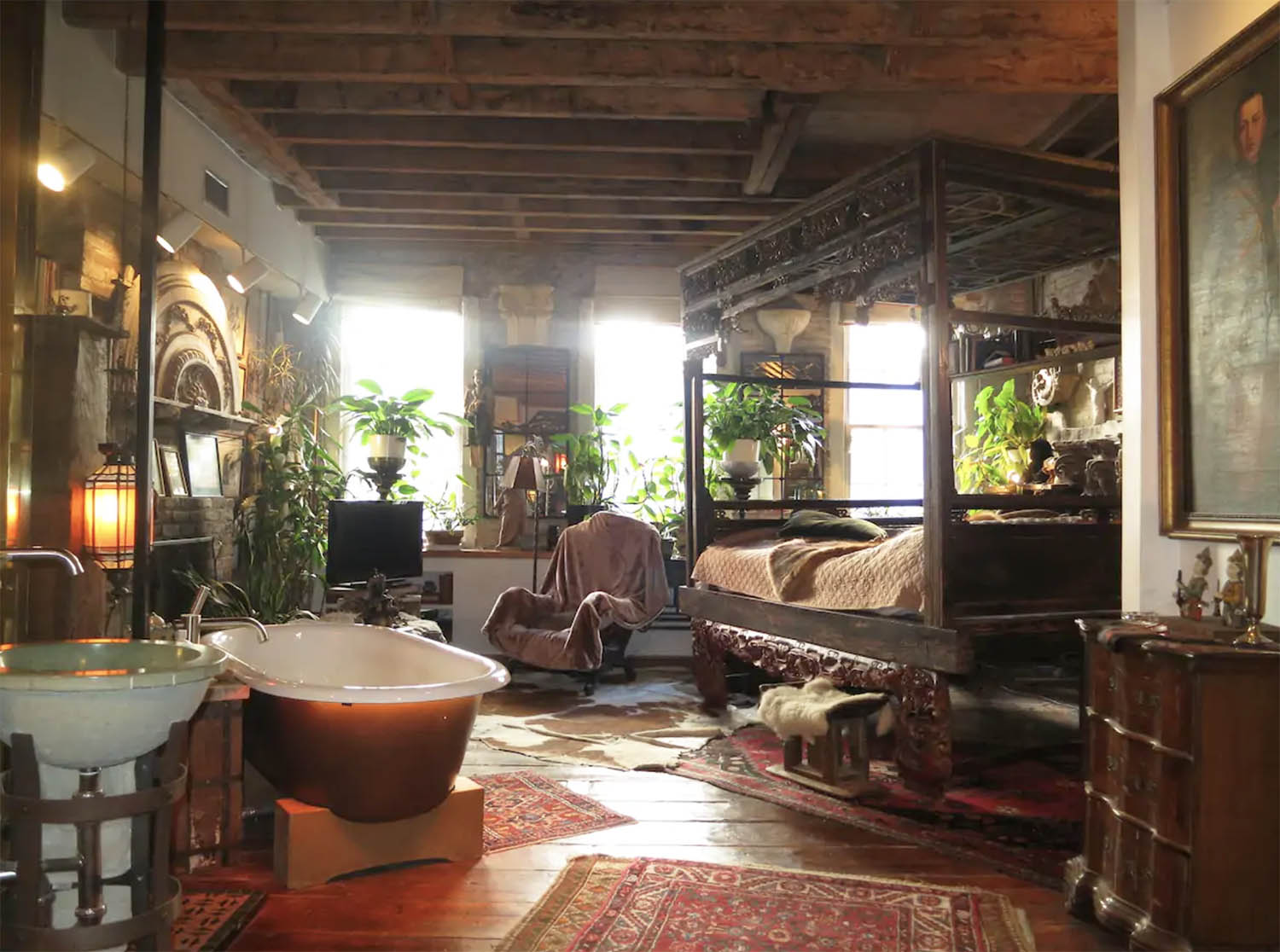 Bohemian Art Eclectic Flat Airbnb NYC New York City