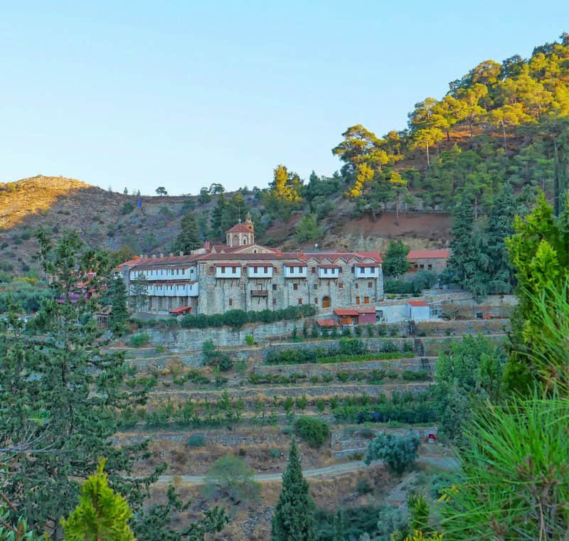 Lofou, one of the most picturesque Cyprus villages near the Troodos Mountains