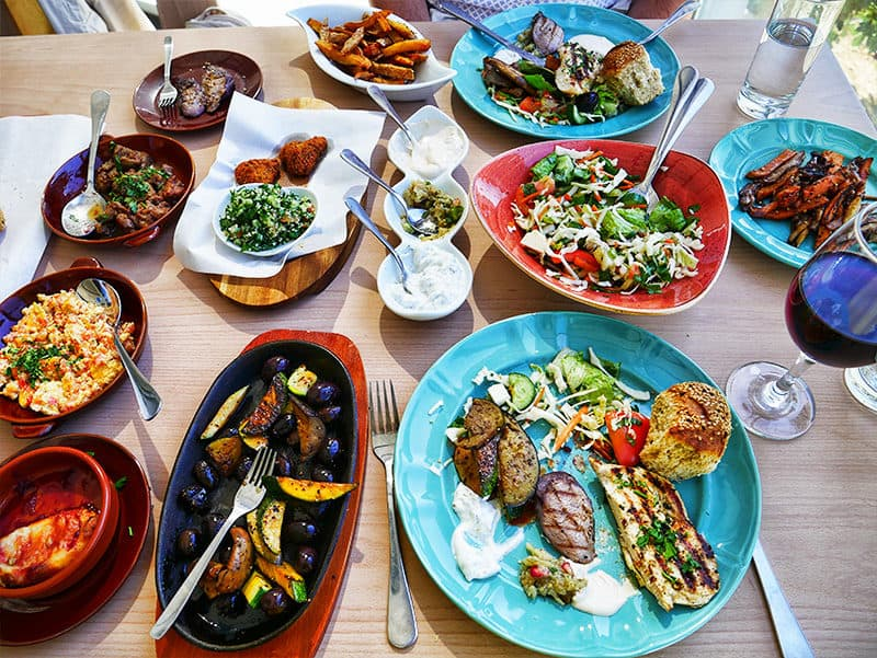 Agrotourism in Cyprus - Santa Irene winery restaurant