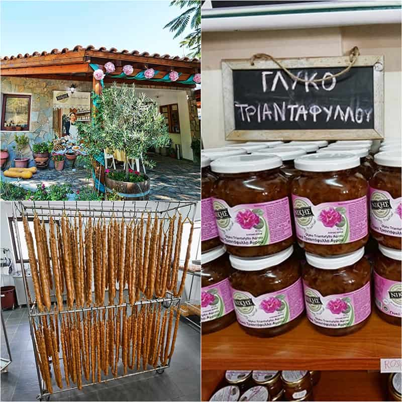 Nikis sweets in the Troodos Mountains, Cyprus
