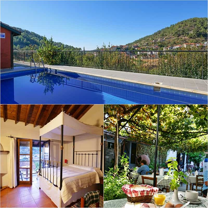 Ambelikos Agro Hotel in the Troodos Mountains, Cyprus