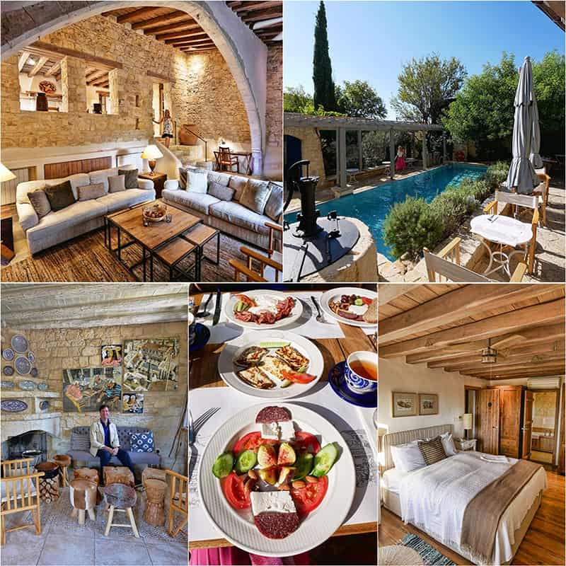 Apokryfou in Lofou - one of the best boutique hotels in Cyprus