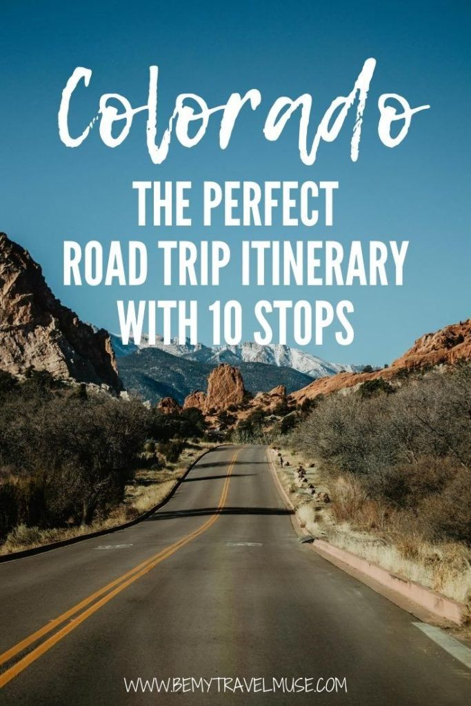 The perfect Colorado road trip itinerary with 10 gorgeous stops, including Denver, Rocky Mountain National Park, Garden of the Gods, Great Sand Dunes National Park and so much more. Plan your Colorado road trip with this itinerary full of insider tips! #Colorado