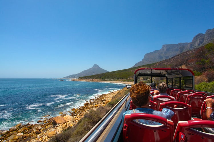 how to get around cape town