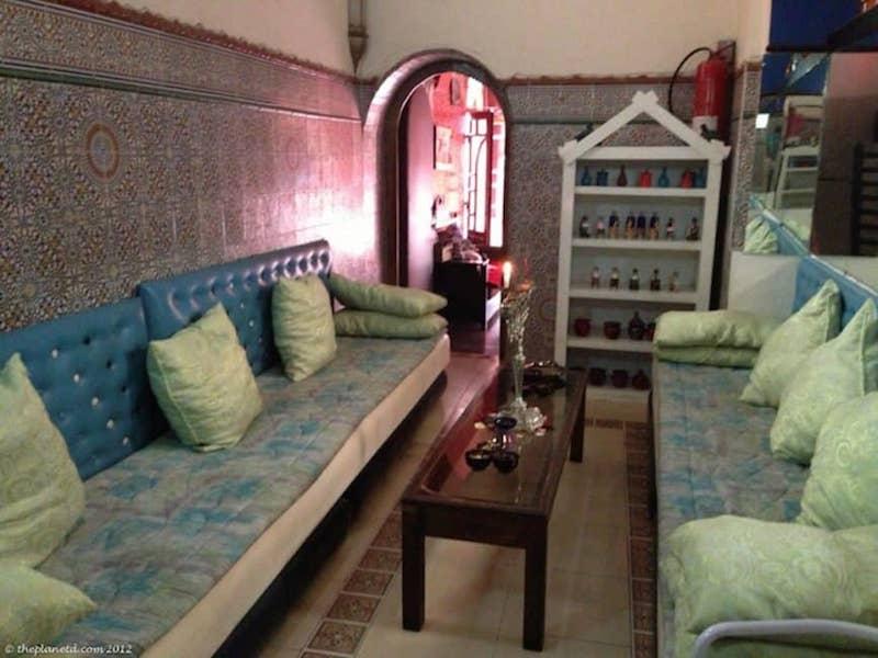 Hammam Morocco Interior waiting room