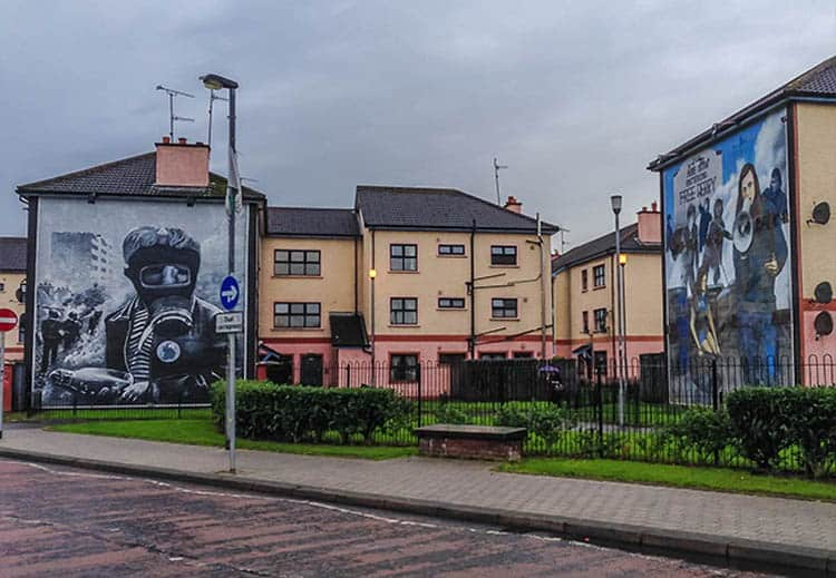 different things to do in northern ireland | murals of London Derry
