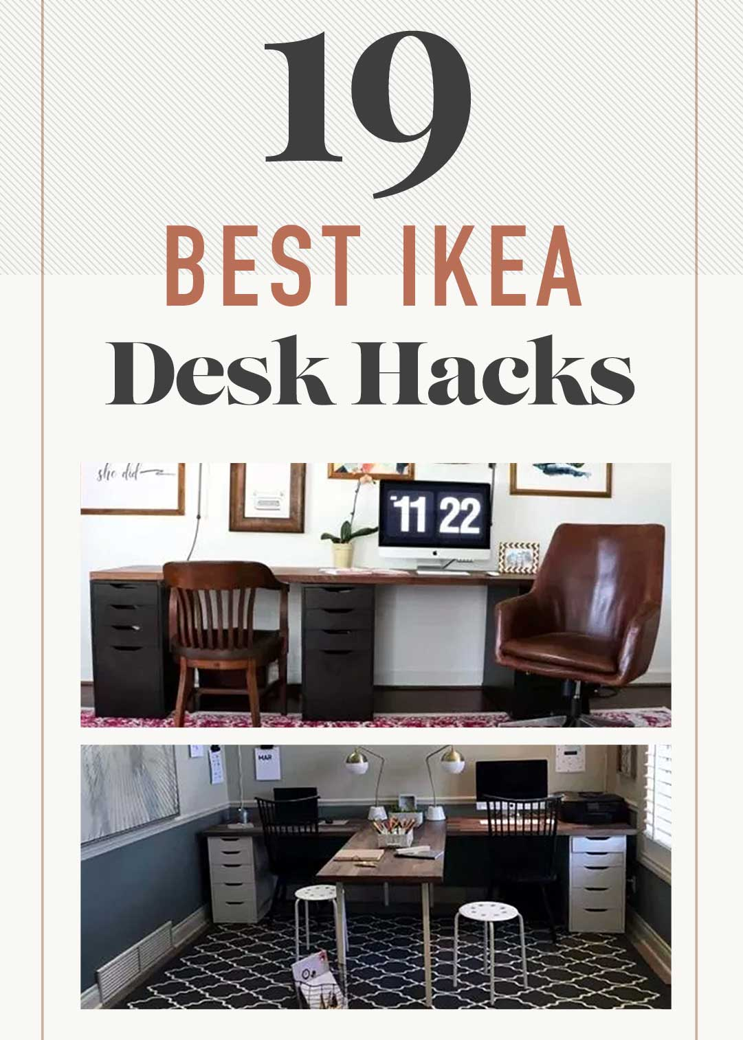 19 best IKEA Desk Hacks